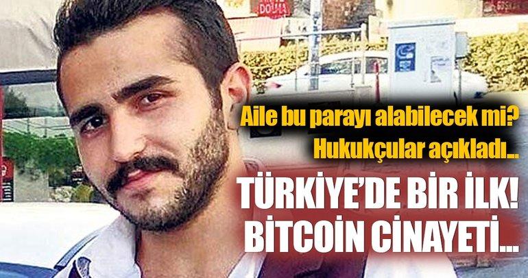 Türkiye'de bir ilk: Bitcoin cinayeti...
