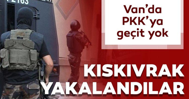 Van'da PKK'ya geçit yok