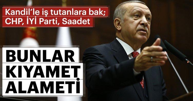CHP-İYİ Parti-Saadet Kandil'le iş tutuyor