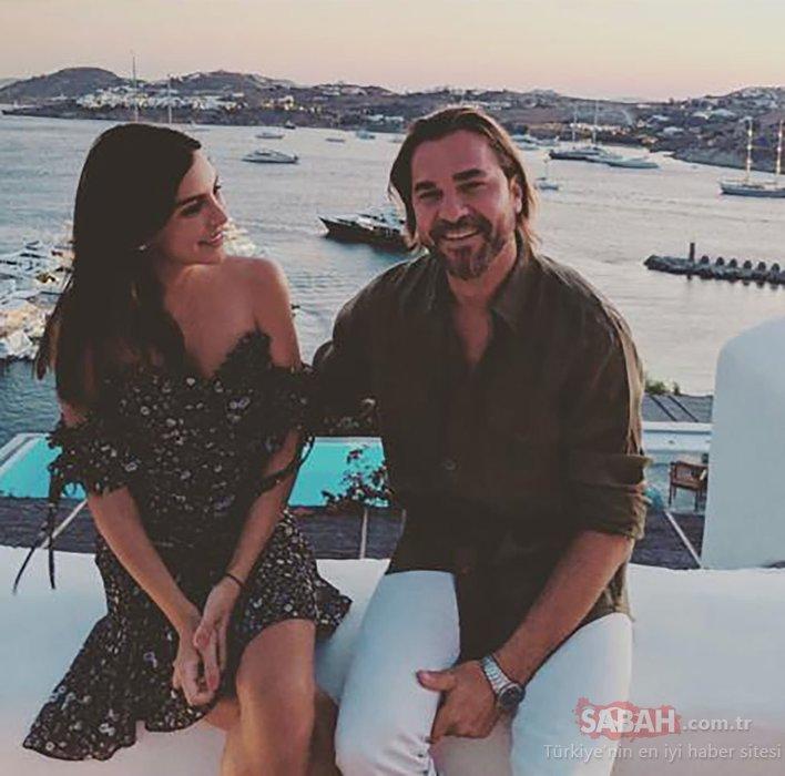 Yakışıklı oyuncu Engin Altan Düzyatan'dan romantik kutlama! Engin Altan Düzyatan eşi Neslişah Alkoçlar'ı kucakladı ve...