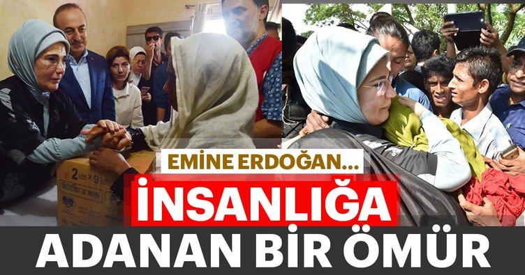 Emine Erdoğan... İnsanlığa adanan bir ömür