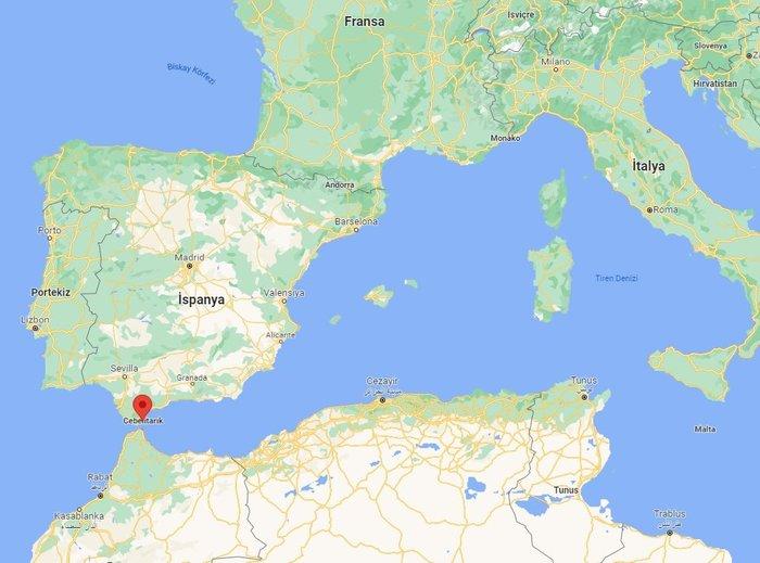 Cebelitarık nerede, haritadaki konumu ne? Türkiye'nin rakibi Cebelitarık ülke mi, hangi kıtada yer alıyor? Cebelitarık ismi nereden geliyor? 14