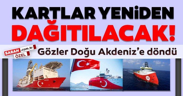 Kartlar yeniden dağıtılacak: Gözler Doğu Akdeniz'e döndü!
