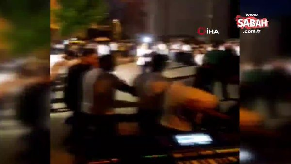 İstanbul Arnavutköy'de kol kola girip ölümüne böyle halay çektiler | Video