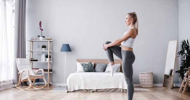 Evde egzersiz sakatlanmalara yol açabilir