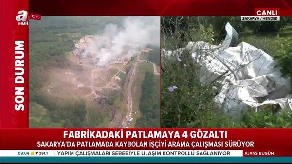 Son Dakika Haberi: Sakarya Hendek'teki patlama ile ilgili flaş gözaltı kararı! | Video