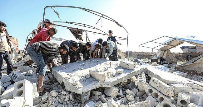 İdlib'e havadan ve karadan saldırı: 8 kişi hayatını kaybetti