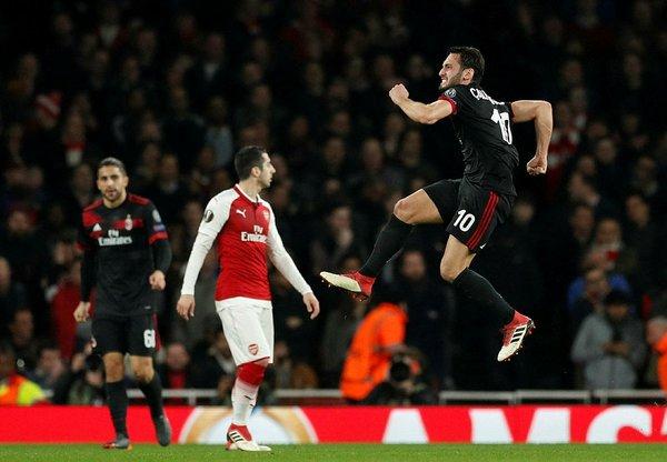 Hakan Çalhanoğlu'ndan muhteşem gol
