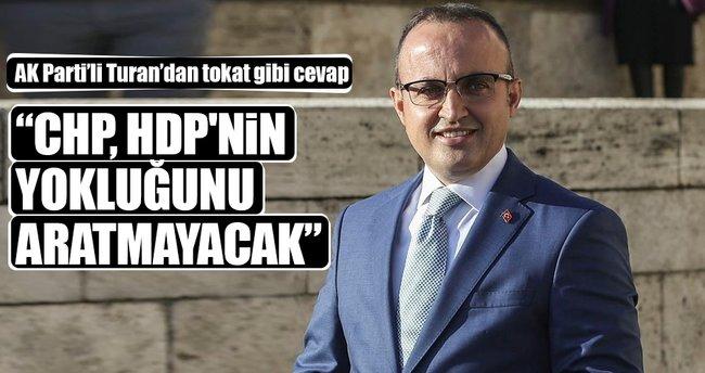 Bülent Turan'dan HDP'ye tepki