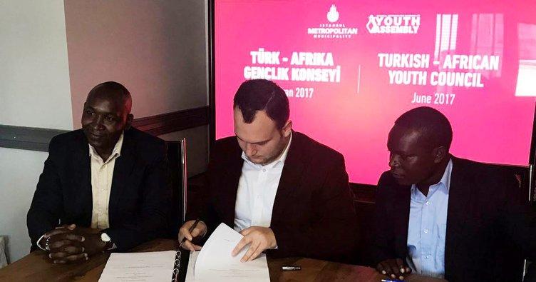 İBB Gençlik Meclisi Türk-Afrika Gençlik Konseyi kuruyor!