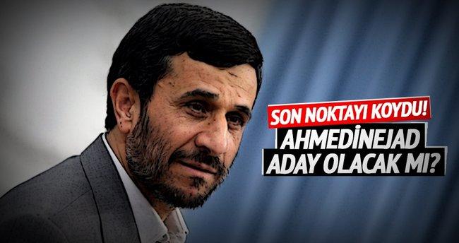 Ahmedinejad, Hamaney'in tavsiyesine uydu: Aday olmuyorum