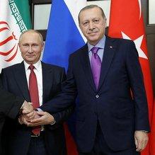 Soçi zirvesi sonrası 3 lider akşam yemeğinde bir araya geldi