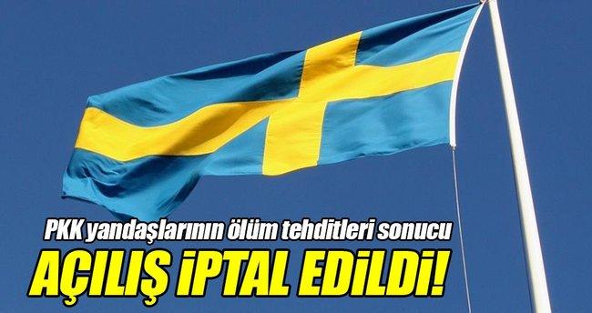 İsveç'te UETD şubesinin açılışı iptal edildi!