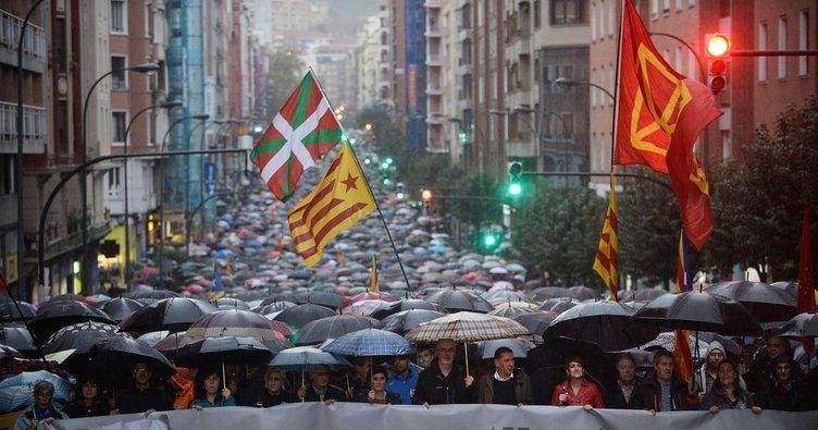 Bask'taki sembolik referandumda 'hayır' çıktı!