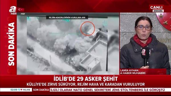 İdlib'ten acı haber... 29 şehit... | Video