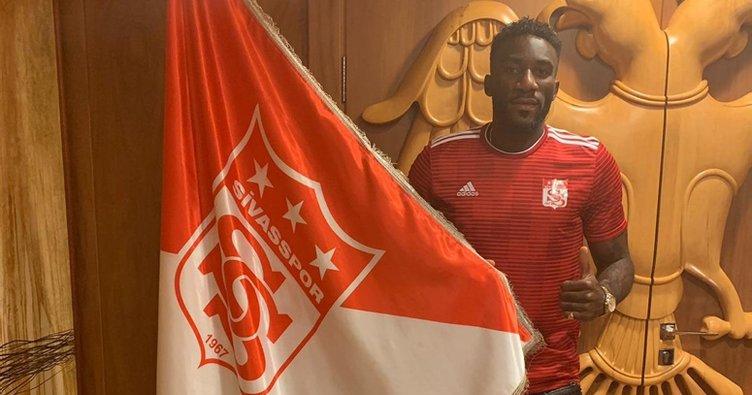 Aaron Appindangoye, Demir Grup Sivasspor'da