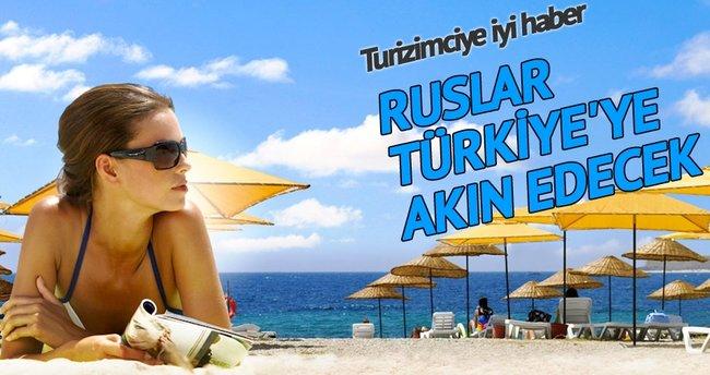 Milyonlarca Rus Türkiye'ye gelecek