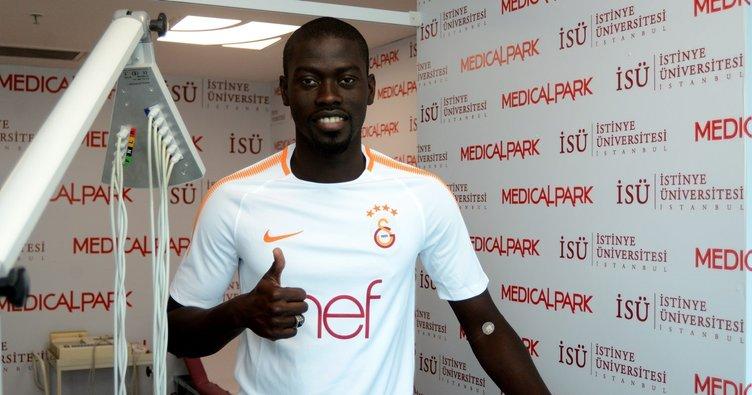 Galatasaray'ın yeni transferi Ndiaye sağlık kontrolünden geçti