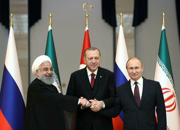 Türkiye-Rusya-İran Üçlü Zirvesi'nden yansıyan kareler
