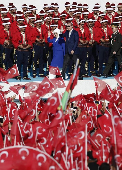 Cumhurbaşkanı Erdoğan Fetih Şöleni'nde