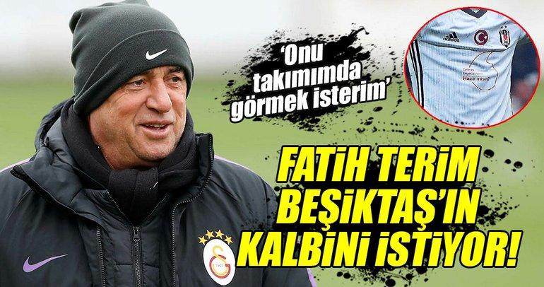 Fatih Terim, Beşiktaşlı yıldızın peşinde!
