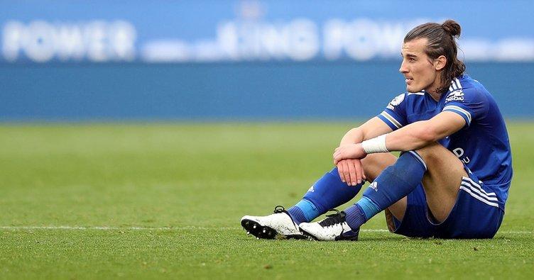 Leicester City'de top koşturan Çağlar Söyüncü'den kötü haber!