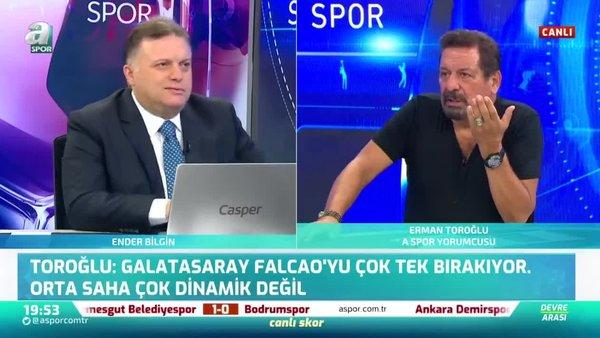 Galatasaray'ın kazandığı penaltı doğru mu? Erman Toroğlu yorumladı