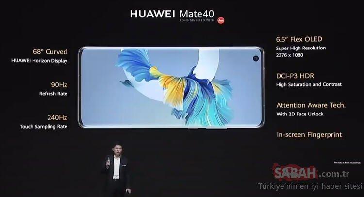 Huawei Mate 40, Mate 40 Pro ve Mate 40 Pro Plus resmen tanıtıldı! İşte Huawei Mate 40 serisinin fiyatı ve özellikleri...