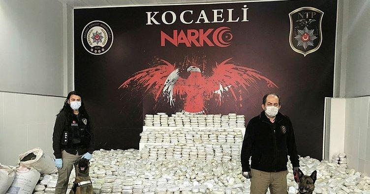 Son dakika: Kocaeli'de dev uyuşturucu operasyonu: 3 ton 860 kilogram...