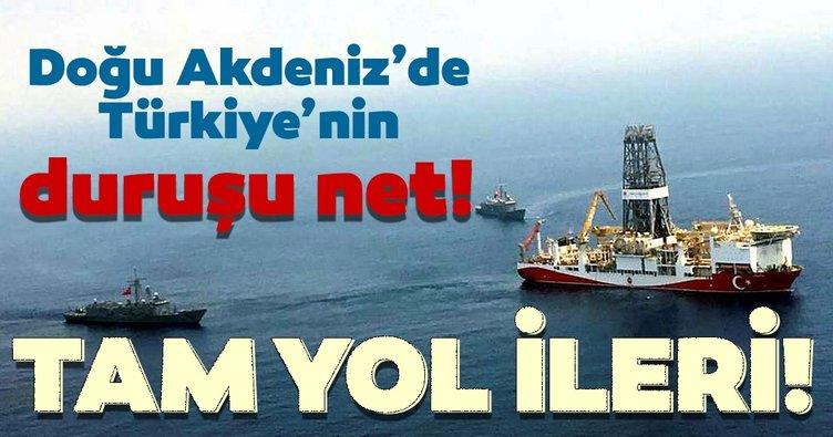 Doğu Akdeniz'de Türkiye'nin duruşu net! Doğu Akdeniz gerilimine sert cevap...