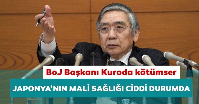 BoJ Başkanı Kuroda: Japonya'nın mali sağlığı ciddi durumda