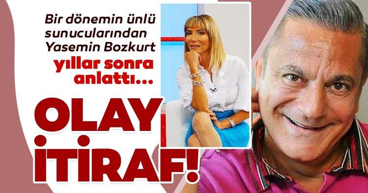 Bir dönemin ünlü sunucularından Yasemin Bozkurt'tan yıllar sonra gelen Mehmet Ali Erbil itirafı!