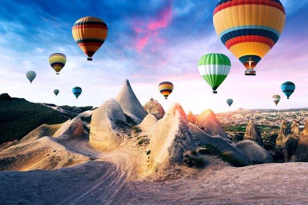 3 Uzakdoğu ülkesi Kapadokya'yı uçurdu
