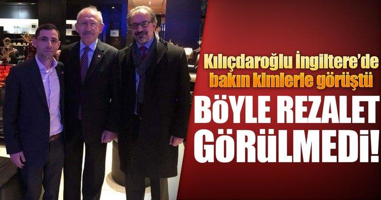 Kılıçdaroğlu'ndan Londra'da skandal görüşme
