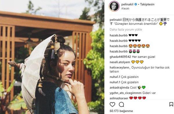 Ünlü isimlerin Instagram paylaşımları (09.04.2018) (Aleyna Tilki)