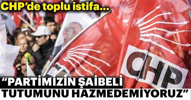Son dakika: Şırnak CHP il yönetimi istifa etti