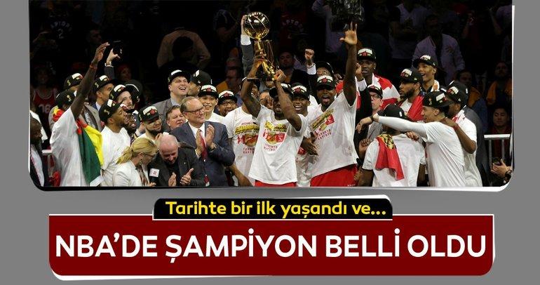 Toronto, Golden State'i yendi ve NBA Şampiyonu oldu