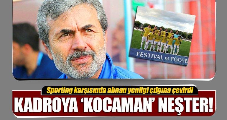 Fenerbahçe'de 'Kocaman' rapor geliyor!