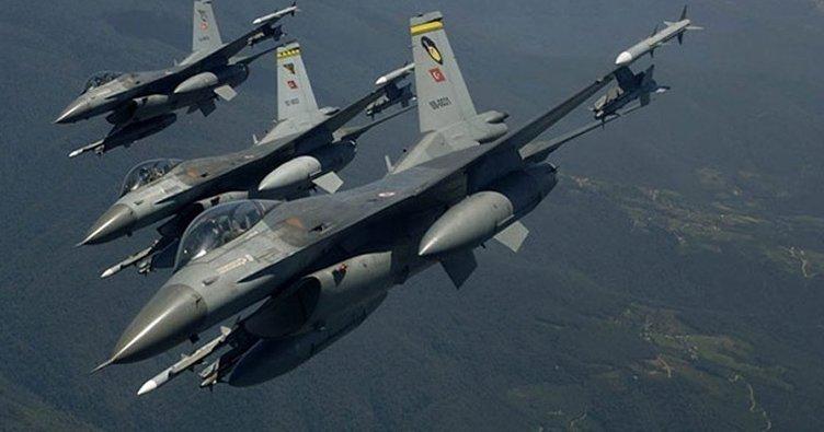 PKK'ya ait mağara ve sığınaklar vuruldu