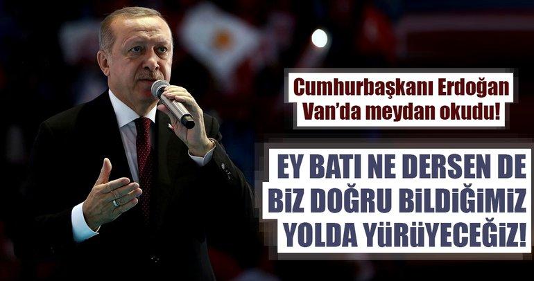 Cumhurbaşkanı Erdoğan: Ey Batı neredesin...