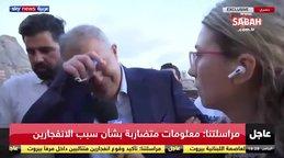 Son dakika! Beyrut Valisi patlama hakkında konuşurken gözyaşlarına hakim olamadı! | Video
