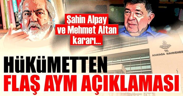Bekir Bozdağ: AYM'nin beraat kararı verme yetkisi yoktur