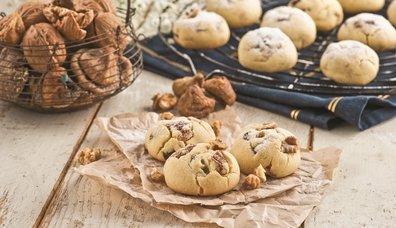 Kuru incirli ve kuru üzümlü kurabiye