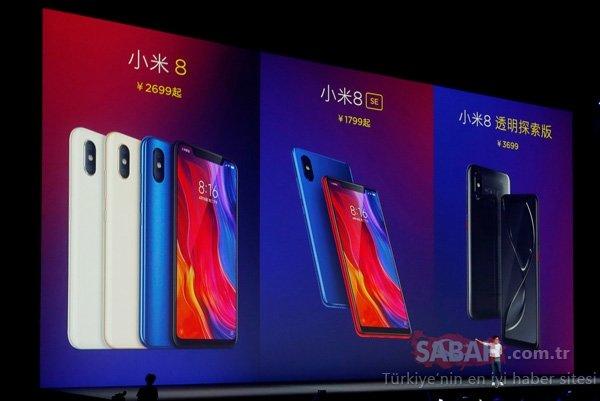 Xiaomi Mi 8 resmen tanıtıldı! İşte Xiaomi Mi 8'in özellikleri ve fiyatı