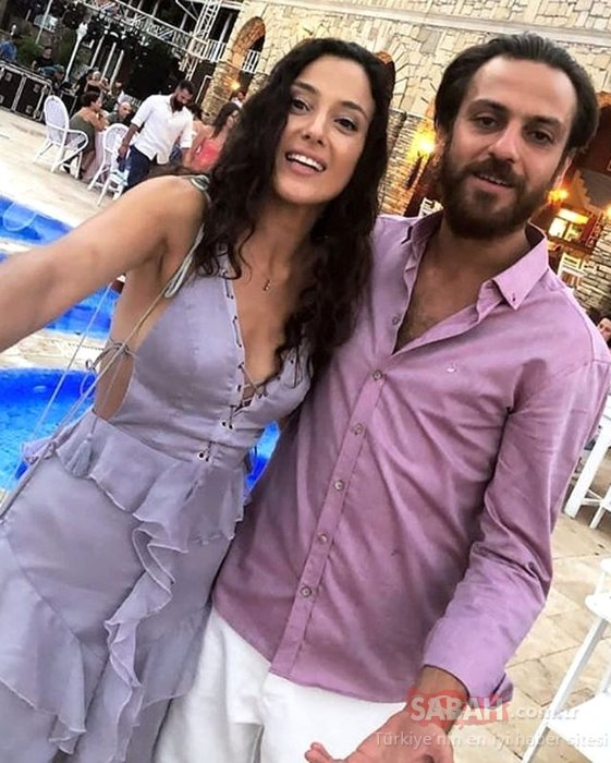 Ünlü çift evleniyor! Erkan Kolçak Köstendil ve Cansu Tosun kına gecesi yaptı!
