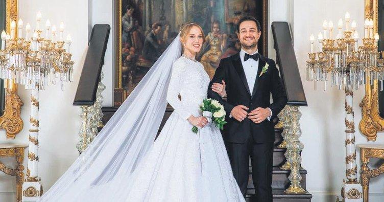Kalyoncu ve Demirören ailelerinin mutlu günü... Haluk Kalyoncu ve Yelda Demirören evlendi