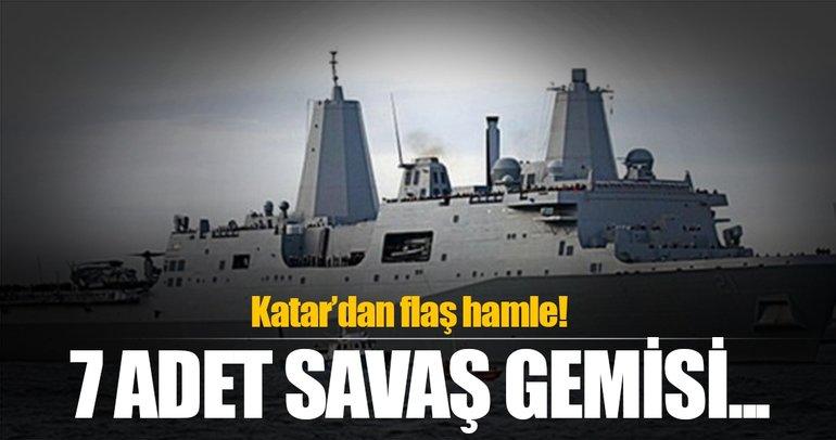 Katar İtalya'dan savaş gemisi alacak