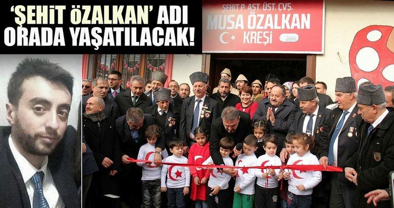Şehit Özalkan'ın adı Esenyurt'ta yaşatılacak