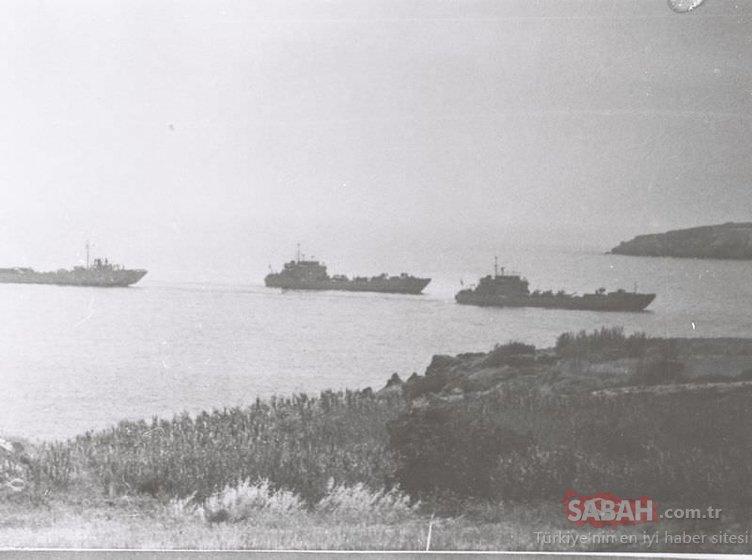 44. yılında Kıbrıs Barış Harekatı'nın tarihi fotoğrafları