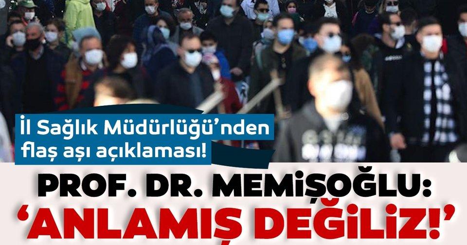 Son dakika: İstanbul İl Sağlık Müdürlüğü'ndan önemli aşı açıklaması: Anlamış değiliz